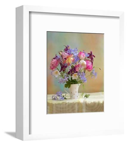 Colorful Flower Stilllife--Framed Art Print
