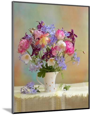 Colorful Flower Stilllife--Mounted Art Print