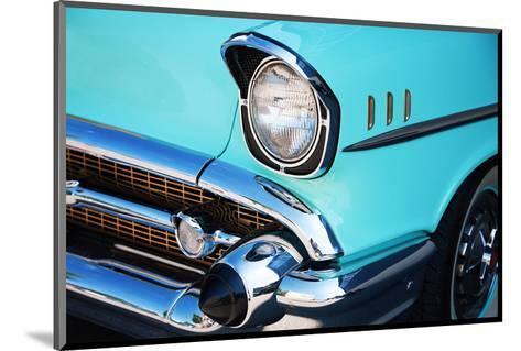 Vintage Car Front Detail--Mounted Art Print