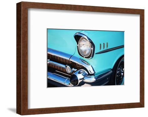 Vintage Car Front Detail--Framed Art Print