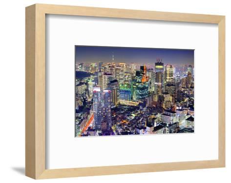 Minato-Ku Area Tokyo Sky Tree--Framed Art Print