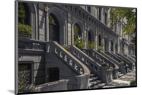 West 69Th Street--Mounted Art Print