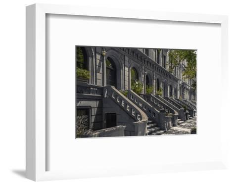 West 69Th Street--Framed Art Print