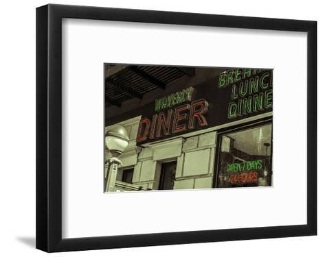 Waverly Diner--Framed Art Print