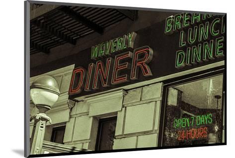 Waverly Diner--Mounted Art Print