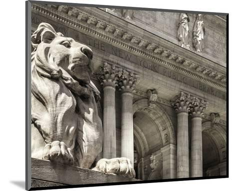 Patience Guarding the Library--Mounted Art Print