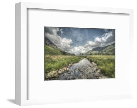 Flowing to Buttermere Lake--Framed Art Print