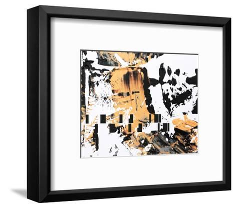 Between Colors and Shapes II--Framed Art Print