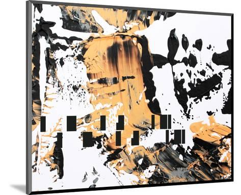 Between Colors and Shapes II--Mounted Art Print