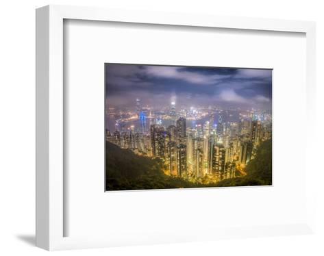 Hongkong From the Peak--Framed Art Print