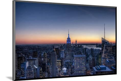 From the Top of the Rock NYC--Mounted Art Print