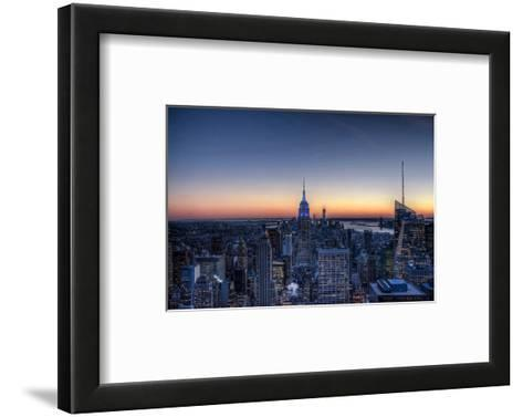 From the Top of the Rock NYC--Framed Art Print