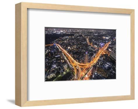Tokyo Traffic--Framed Art Print