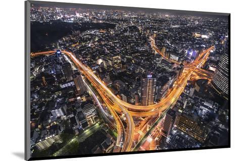 Tokyo Traffic--Mounted Art Print