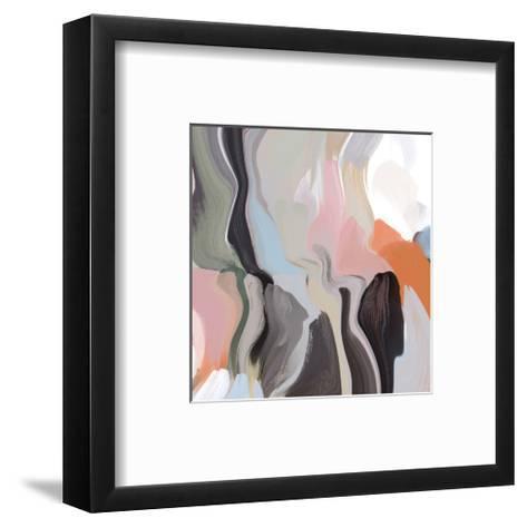 Cropped Hill Landscape--Framed Art Print