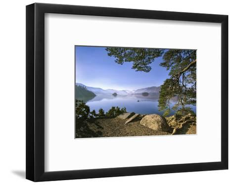 Derwent Water Morning Light--Framed Art Print