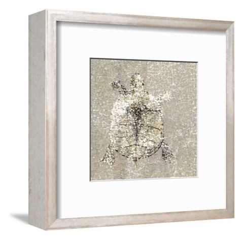 Aqua Marine X--Framed Art Print