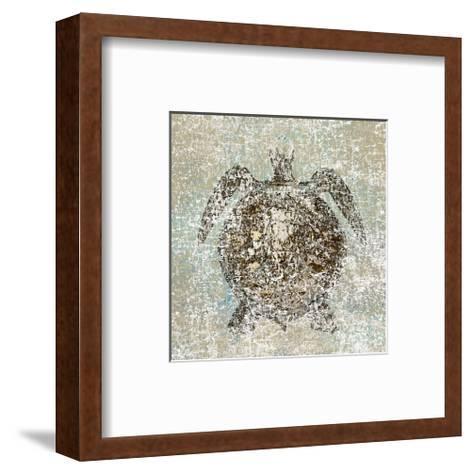 Aqua Marine XII--Framed Art Print