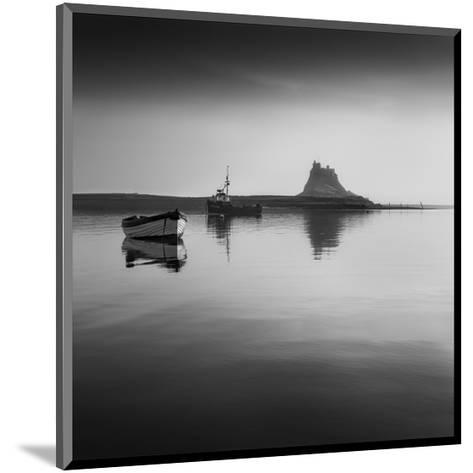 Lindisfarne Boats--Mounted Art Print
