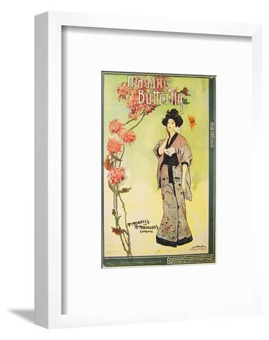 Puccini Opera Madame Butterfly--Framed Art Print