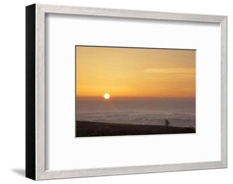 Brimham Dawn--Framed Art Print