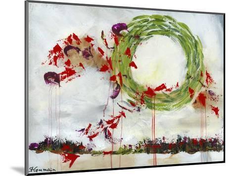 Coup d'éclat-Carole St-Germain-Mounted Art Print