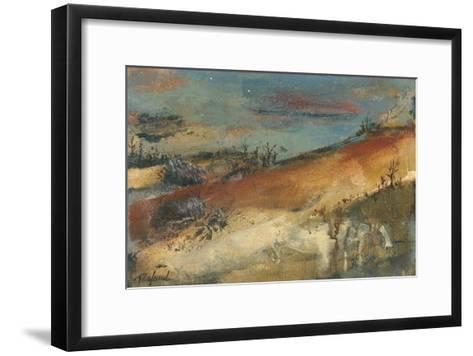 Territoire de l'âme-Roland Beno?t-Framed Art Print