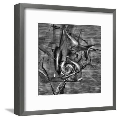Distorted shape I-Jean-Fran?ois Dupuis-Framed Art Print
