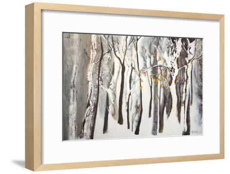La forêt blanche-Kathleen Cloutier-Framed Art Print