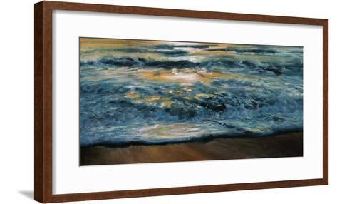 Shoreline Study 04815-Carole Malcolm-Framed Art Print