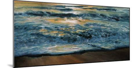 Shoreline Study 04815-Carole Malcolm-Mounted Art Print