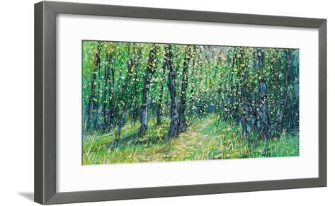 Treescape 06315-Carole Malcolm-Framed Art Print