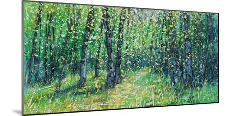Treescape 06315-Carole Malcolm-Mounted Art Print