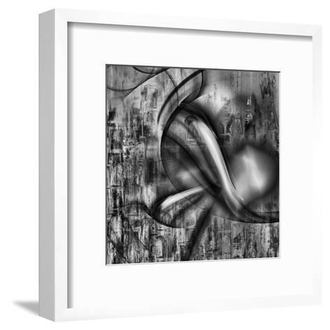 Distorted shape II-Jean-Fran?ois Dupuis-Framed Art Print