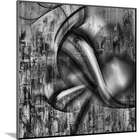 Distorted shape II-Jean-Fran?ois Dupuis-Mounted Art Print