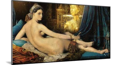 Odalisque-Daniel Stanford-Mounted Art Print