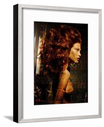 Hair Temple Sparkles-Daniel Stanford-Framed Art Print