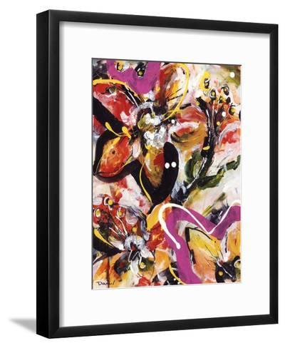 Étude Fleurs III-Pierre David-Framed Art Print