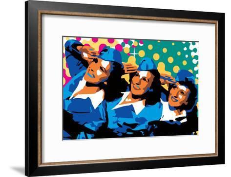 Sisters-Ray Lengel?-Framed Art Print