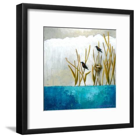 9 juillet 2015-Marie Claprood-Framed Art Print