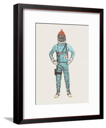 Zissou In Space-Florent Bodart-Framed Art Print