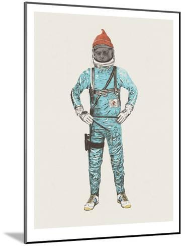 Zissou In Space-Florent Bodart-Mounted Art Print