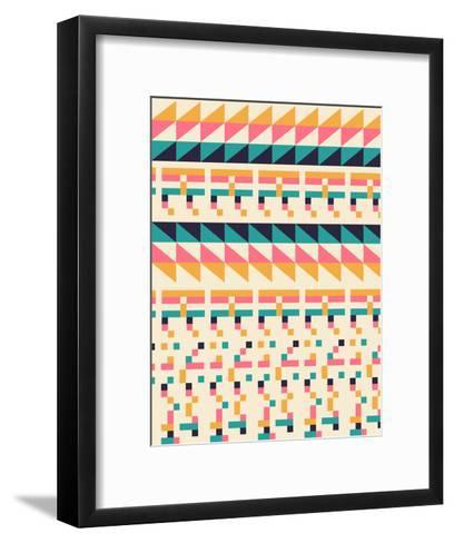 Pattern1-Florent Bodart-Framed Art Print
