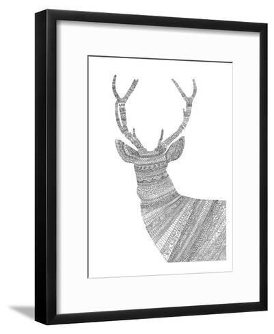 Stag 1-Florent Bodart-Framed Art Print