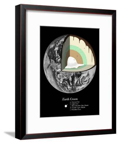 Earth Cream-Florent Bodart-Framed Art Print