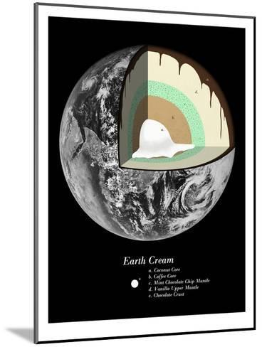 Earth Cream-Florent Bodart-Mounted Art Print