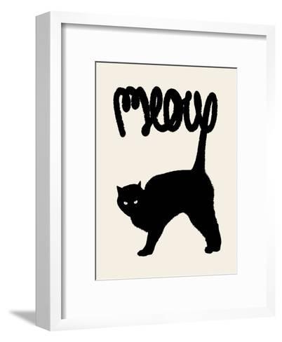 Meow-Florent Bodart-Framed Art Print