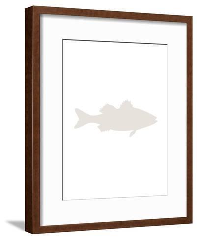 Beige Sea Bass-Jetty Printables-Framed Art Print