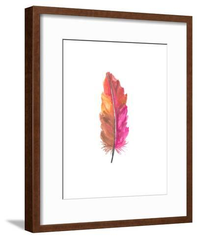 Feather 5-Jetty Printables-Framed Art Print