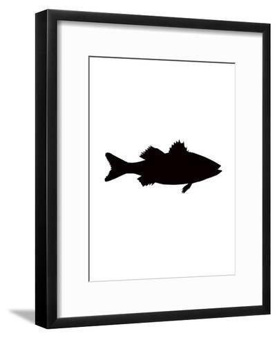 Black Sea Bass-Jetty Printables-Framed Art Print